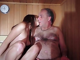 Licking a womens nipple in sex